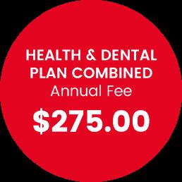health and dental plan price