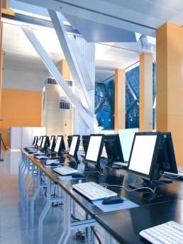 University computer room